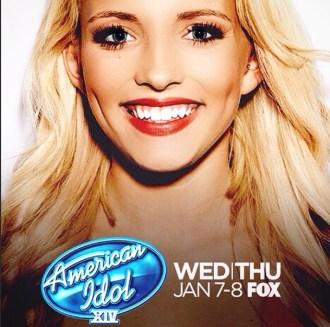 Maddie Walker on American Idol 2015