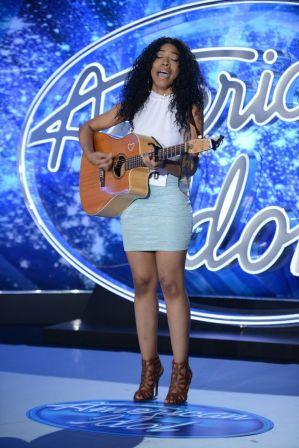 Najah Lewis on American Idol