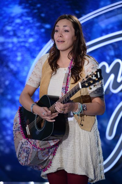 Vanessa Andrea performs on American Idol 2015