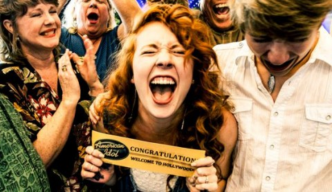 American Idol 2015 Golden Ticket winner celebrates