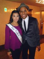 Rayvon Owen with Miss Florida Teen Top Model