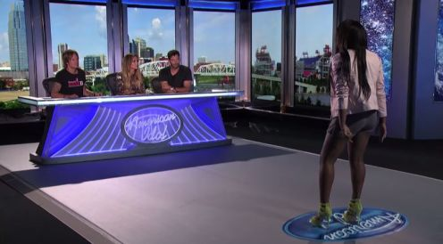 Sarina-Joi Crowe auditions on American Idol 2015 - 03