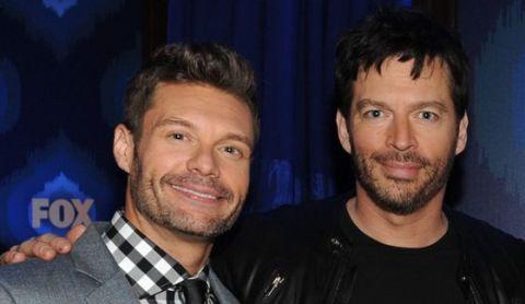 American Idol's Ryan Seacrest & Harry Connick Jr. CR: Frank Micelotta/FOX