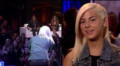 Jax performs during American Idol Showcase