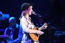 Joey Cook performs