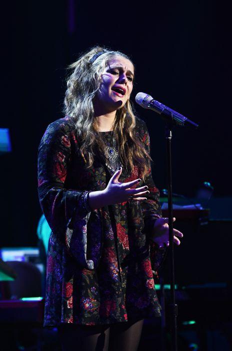 Katherine Winston performs