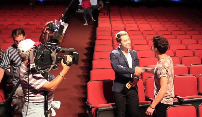 Lance Bass visits American Idol 2015 – 02