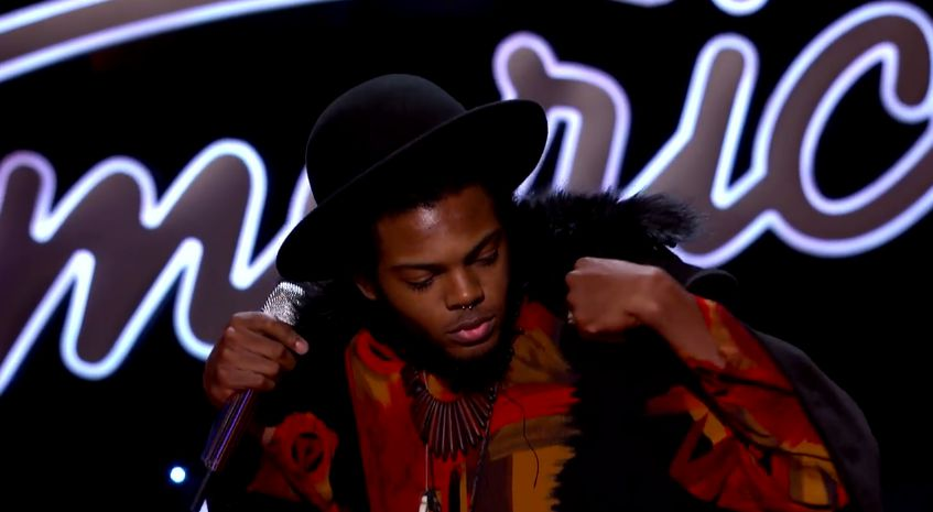 Quentin Alexander prepares to sing – 01