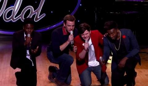 Double Stuff group on American Idol 2015