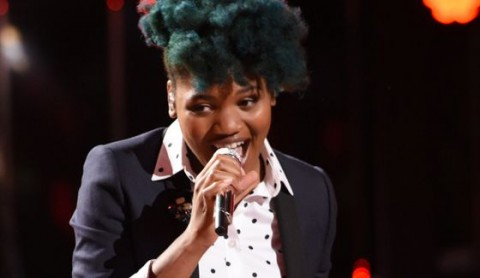 Tyanna Jones sings on American Idol Top 12