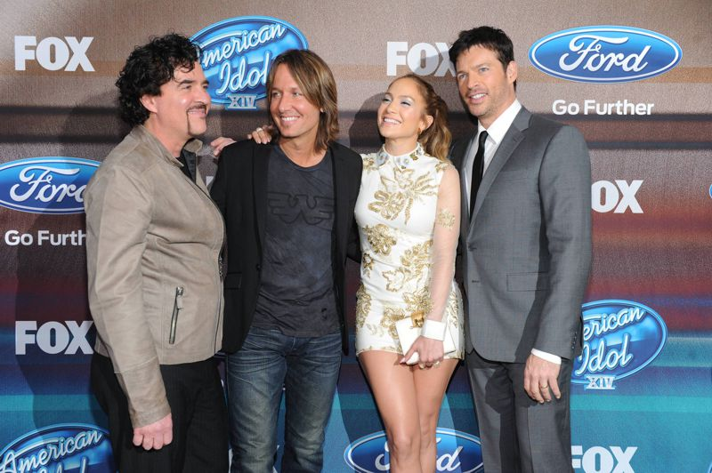 American Idol Judges – Top 12 Finalist Party