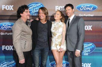American Idol Judges - Top 12 Finalist Party
