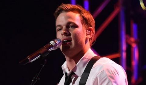 Clark Beckham performs on American Idol