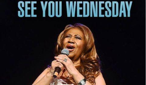 Aretha Franklin on American Idol 2015
