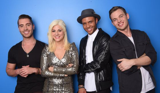 American Idol 2015 Top 4 contestants