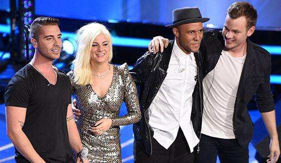American Idol 2015 Top 4 contestants