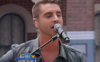 American Idol Winner Nick Fradiani on Live! With Kelly & Michael