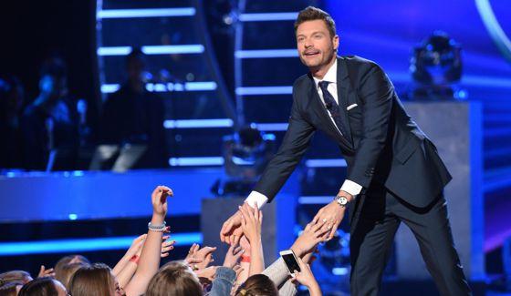 Ryan Seacrest hosts American Idol 2016