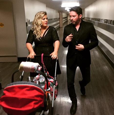 Kelly Clarkson and Brandon Blackstock