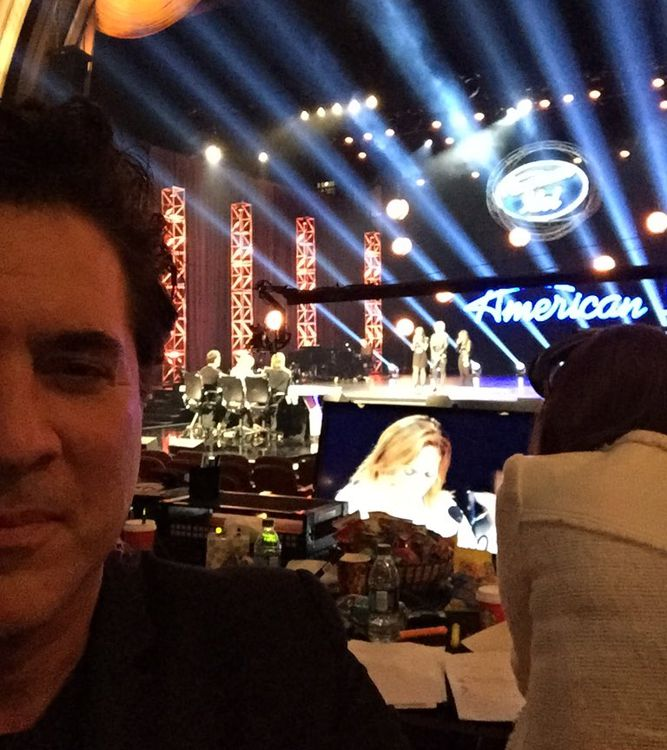 Scott Borchetta snaps a selfie at Hollywood Week