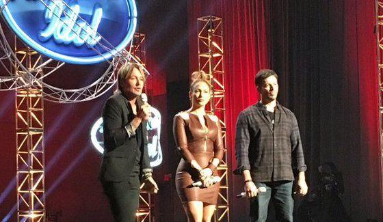 American Idol Judges during Season 15
