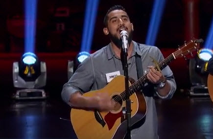 Manny Torres American Idol Hollywood Week (FOX/YoUTube)