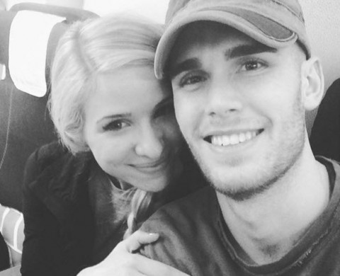Colton Dixon and wife Annie Coggeshall