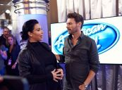 Kanye West surpises the Judges and Ryan on AMERICAN IDOL - 02