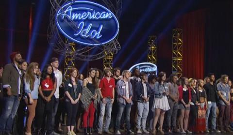 American Idol 2016 Hopefuls in Hollywood