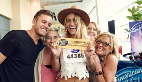 American Idol Hopeful earns a Golden Ticket