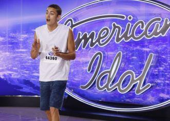 Derek Huffman on American Idol 2016