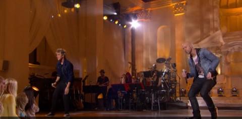 Chris Daughtry and Dalton Rapattoni American Idol Top 24 duet (FOX)