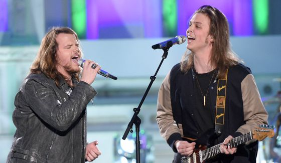 James VIII and Caleb Johnson rock on American Idol