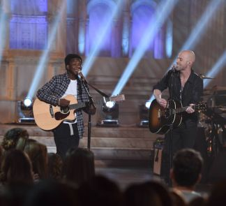 Lee Jean with Chris Daughtry