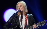 Olivia Rox performs her solo on American Idol