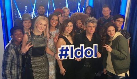 'American Idol' 2016 contestants - Top 14 Group photo