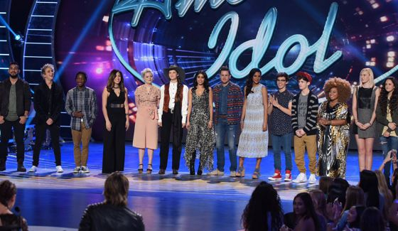 Top 14 contestants on American Idol