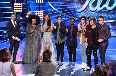 The American Idol 2016 Top 8. Fox Photo