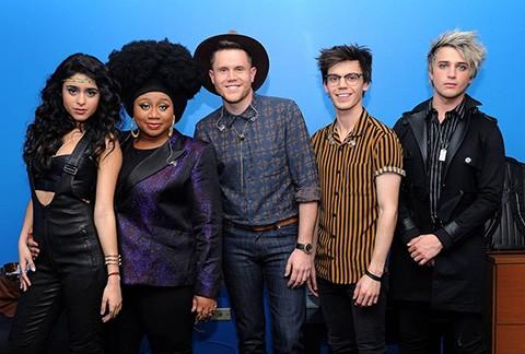 The American Idol 2016 Top 5. (Fox)