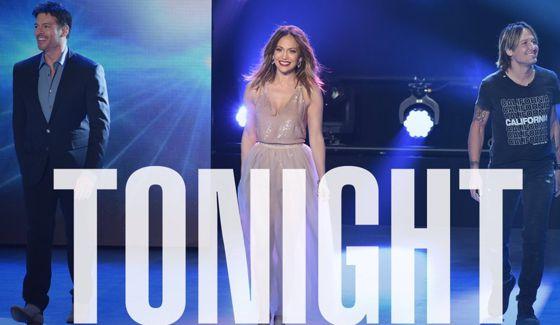 American Idol Judges tonight on FOX