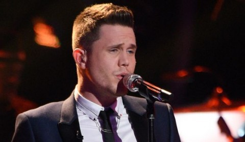 Trent Harmon sings on American Idol
