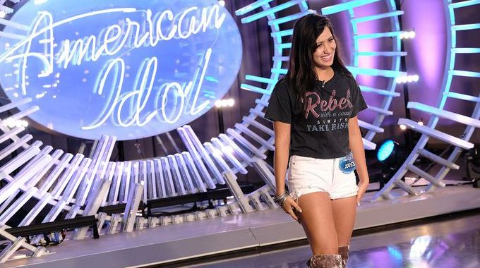 Michelle Sussett on American Idol 2018