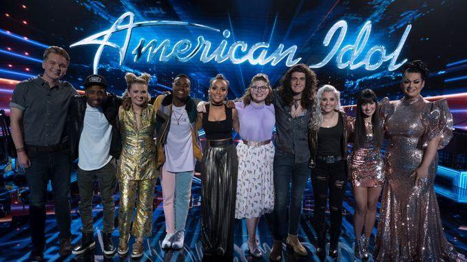 American Idol 2018 Top 10 singers