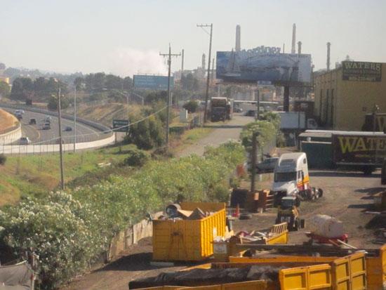 Industrial area near San Francisco bay (author photo)