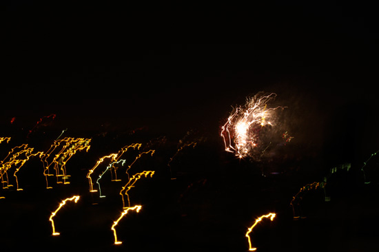 Reverence (Chicago fireworks). © 2012 Susan Barsy.