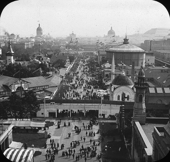 View of the Fair from the Ferris Wheel, 1893 photograph by Starks Lewis (Courtesy of the Brooklyn Museum via Flickr Commons)