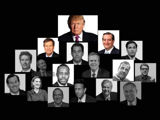 The GOP heap (April 2016), © 2016 Susan Barsy