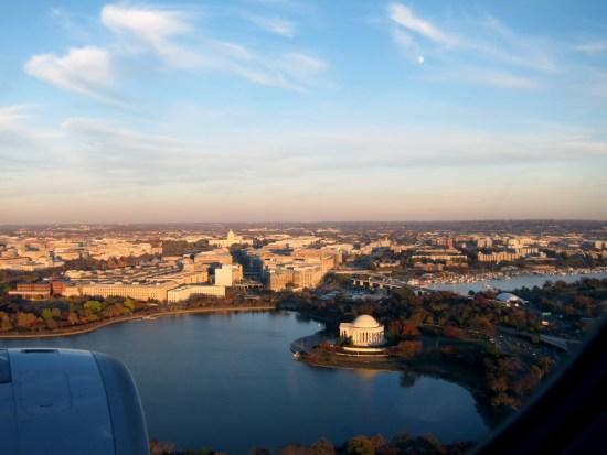 Washington DC (Low aerial), © 2016 Susan Barsy