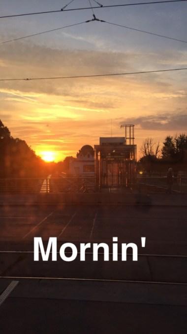 good morning vienna austria