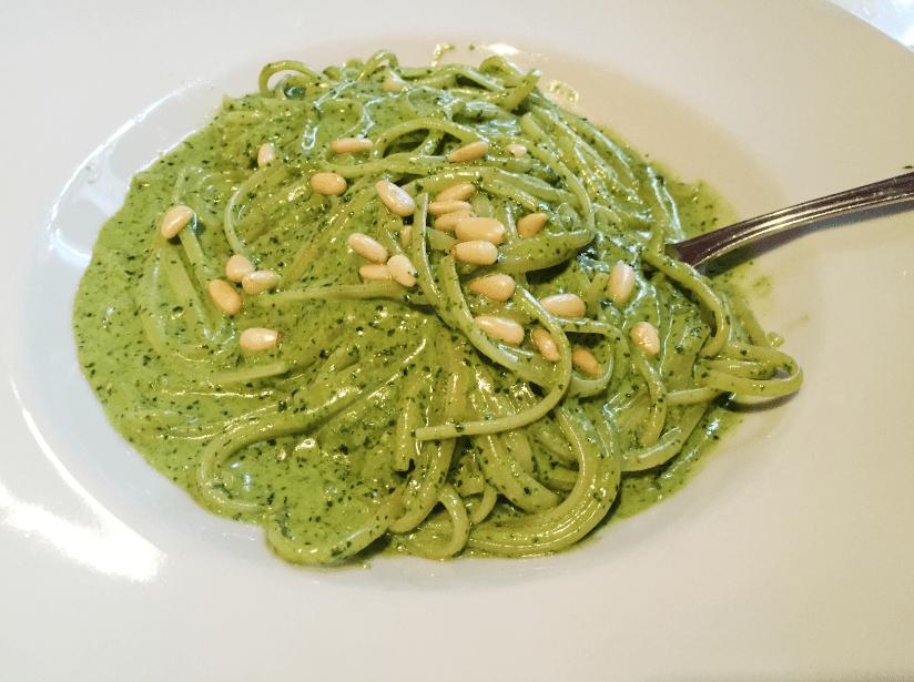 pesto spaghetti il sestante vienna austria